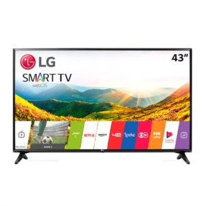 "Smart TV LED LG 43"" LG 43LJ5500 Full HD com Wi-Fi  1 USB  2 HDMI  DTV  Painel IPS e Time Machine Ready"