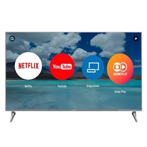 "Smart TV 58"" LCD LED Panasonic TC58EX750B 4K Ultra HD  4 HDMI  HDR  Local Dimming Pro (Emb. contém 1un.)"