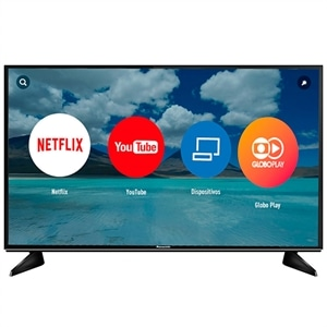 "Smart TV 43"" Panasonic LCD LED TC-43EX600B 4K Ultra HD  3 HDMI (Emb. contém 1un.)"
