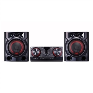 Mini System LG Xboom CJ65 810W Multi Bluetooth Dual USB Sound Sync Wireless (Emb. contém 1un.)