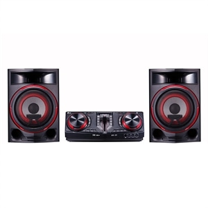 Mini System LG Xboom CJ87 1800W  Efeito Turbina  Multi Bluetooth  Multi Playlist (Emb. contém 1un.)
