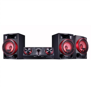 Mini System LG Xboom CJ88  2250W  Efeito Turbina Multi Bluetooth LG Music Flow Bluet (Emb. contém 1un.)