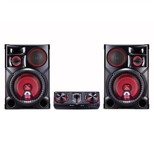 Mini System LG Xboom CJ98 2700W  Multi Bluetooth  LG Music Flow Multi Playlist (Emb. contém 1un.)