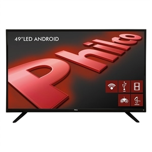 "Smart TV Android LED 49"" PH49F30DSGWA Full HD  Wi-Fi  2 USB  2 HDMI  Ginga  Midiacast  Sleep Time e 60Hz (Emb. contém 1un.)"