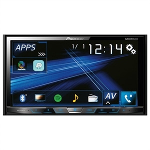 "DVD Automotivo Pioneer AVH-X598TV Tela 7""  TV Digital  2-DIN  Bluetooth  USB (Emb. contém 1un.)"