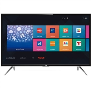 "Smart TV 32"" TCL L32S4900S LED HD com Wi-Fi 2 USB 3 HDMI"