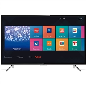 "Smart TV 39"" TCL L39S4900FS LED Full HD com Wi-Fi 2 USB 3 HDMI"