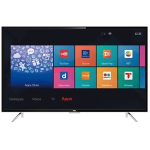 "Smart TV LED 43"" TCL L43S4900FS Full HD com Wi-Fi 2 USB 3 HDMI"