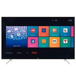 "Smart TV 49"" LCD Semp Toshiba LED TCL L49S4900FS Full HD com Wi-Fi 2 USB 3 HDMI (Emb. contém 1un.)"