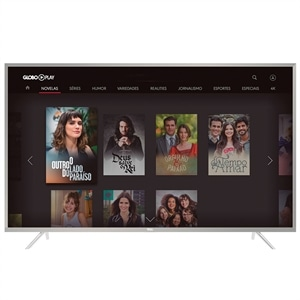 "Smart TV LED 49"" TCL 49P2US 4K Ultra HD HDR com Wi-Fi 2 USB 3 HDMI"
