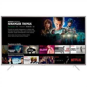 "Smart TV 55"" TCL 55P2US LED 4K Ultra HD HDR com Wi-Fi 2 USB 3 HDMI"