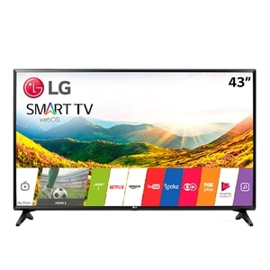 "Smart TV 43"" LCD LED LG 43LJ551C.BWZ  Full HD  USB  2 HDMI  Modo Hotel  Wi-Fi (Emb. contém 1un.)"