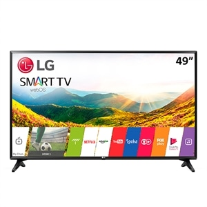 "Smart TV 49"" LCD LED LG   49LJ551C  Full HD  com Wi-Fi  2 HDMI  USB  60Hz  Modo Hotel (Emb. contém 1un.)"