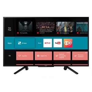 "Smart TV 43"" LCD LED Sony KDL43W665F HDR  Wi-Fi  HDMI  USB  Motionflow  XR240 X Reality Pro (Emb. contém 1un.)"