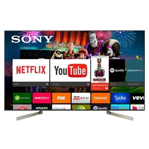 "Smart TV LED 65"" Sony XBR-65X905F 4K HDR com Android  Wi-Fi  3 USB  4 HDMI  X-Tended Dynamic  X-Motion  Controle Comando de Voz"