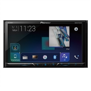 "Som Automotivo Pioneer AVH-A4180TV  2-DIN  Tela Touch 7"" WVGA  Bluetooth  USB  TV Digital"