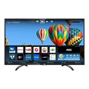 "Smart TV LED 32"" AOC LE32S5970S HD com Wi-Fi  2 USB  3 HDMI  Sleep Timer e 60Hz"