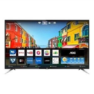 "Smart TV LED 50"" AOC LE50U7970S 4K UHD com Wi-Fi  2 USB  4 HDMI  Sleep Timer e 60Hz"