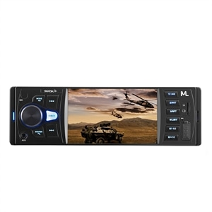 Som Automotivo Multilaser P3325 Rock 4 Entrada USB e Auxiliar  Bluetooth  MP5 Player e Rádio FM