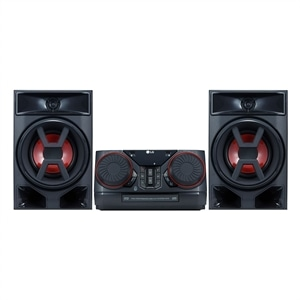 Mini System XBOOM CK43 com Multi Bluetooth  2 USB  Sound Sync  Wireless  220W RMS - LG