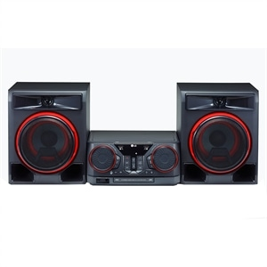 Mini System XBOOM CK56 com Multi Bluetooth  2 USB  Função Karaokê   Sound Sync  Wireless  620W RMS ¿ LG