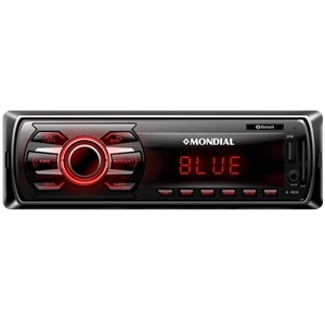 Som Automotivo Mondial AR-06  Entradas USB/SD  Auxiliar  Bluetooth  MP3