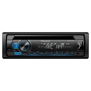 Som Automotivo Pioneer DEH-S1180UB Mitrax  Entrada USB e Auxiliar  MP3  CD  Interface para Android
