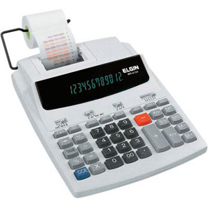 Calculadora de Mesa MR6124 com Bobina Elgin 12 Dígitos Display Fluorescente (Emb. contém 1un.)