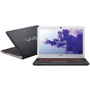 "Notebook Sony Vaio SVE14A15 Intel Core i5-2450M  Tela 14""  6GB RAM  HD 640GB  Windows 7  Home Premium Preto/Vermelho (Emb. contém 1un.)"