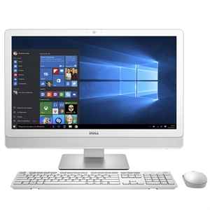"Micro All in One 3459-A10   Intel Core i3   4GB RAM   HD 1TB   Tela 23.8""   Windows 10   Branco Mervtr (Emb. contém 1un.) - Dell"