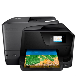 Multifuncional HP Officejet Pro 8710 D9L18A All In One Wi-Fi Fax (Emb. contém 1un.)