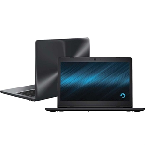 "Notebook Stilo One XCI3650 Tela 14""  Intel Celeron  4GB RAM  HD 500GB  Linux  Cinza (Emb. contém 1un.) - Positivo"