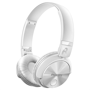 Headphone SHB3060WT/00 Bluetooth Branco (Emb. contém 1un.) - Philips