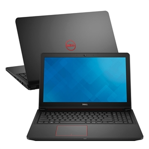 "Notebook Dell I7 I15-7559-A30  Tela 15.6""  16G RAM  HD 1TB  Windows 10 Placa de Video 4GB  Preto (Emb.contém 1un.)"