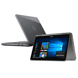 "Notebook 2 em 1  Dell Inspiron Intel Pentium N3710  L11-3168-A10  Tela 11.6""  4GB RAM  HD 500GB  Windows 10 Cinza (Emb. contém 1un.)"