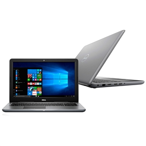 "Notebook Dell Inspiron Intel Core i7-7500U  I15-5567-A40C  Tela 15.6""  8GB RAM  HD 1TB  Windows 10  Placa de Vídeo AMD Radeon R7 M445 4GB  Cinza (Emb. contém 1un.)"
