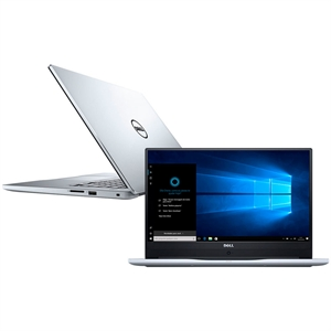"Notebook I15-7560-A20S  Tela 15.6""  Intel Core i7  8GB RAM  HD 1TB  Windows 10  Placa de Vídeo 4GB  Prata (Emb. contém 1un.) - Dell"