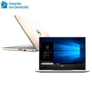 "Notebook Dell I7 I14-7460-A20G  Tela 14""  8GB RAM  HD 1TB  Windows 10  Placa de Vídeo 4GB  Dourado (Emb. contém 1un.)"