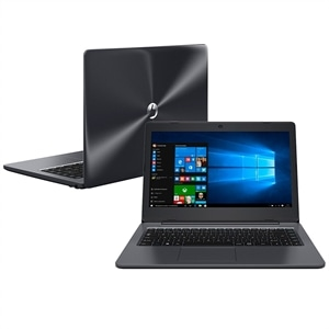 "Notebook Stilo One XC 7660 Tela 14""  Intel Core i3  4GB RAM  HD 1TB  Windows 10 Cinza (Emb. contém 1un.) - Positivo"