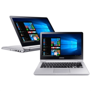"Notebook NP740U3M-KD2BR  Tela 13.3""  Intel Core i5  4GB RAM  HD 500MB  Windows 10 Full HD Prata (Emb. contém 1un.) - Samsung"