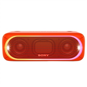 Caixa de Som Sony Speaker SRS-XB30 Vermelho Bluetooth  Wireless  NFC  30W RMS  Extra Bass  Led Multicolorido  Resistente a Ág