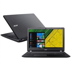 "Notebook Acer ES1-533-C27U  Tela 15.6""  4GB  500GB  Windows 10  Preto (Emb. contém 1un.)"