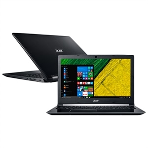 "Notebook Acer A515-51G- 71KU  Intel Core i7  8GB  1TB  Placa de Video 2GB  Windows 10  Tela 15.6""  Preto (Emb. contém 1un.)"