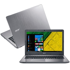 "Notebook Acer Intel Core i5  F5-573G-519X  Tela 15.6""  8GB RAM  HD 2TB  Windows 10  Prata (Emb. contém 1un.)"