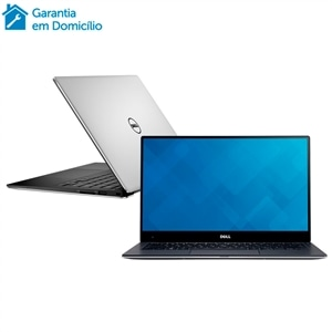 "Notebook Dell i7 XPS-9360-A10  Intel Core i7  8GB  256GB  Tela 13.3"" e Windows 10"