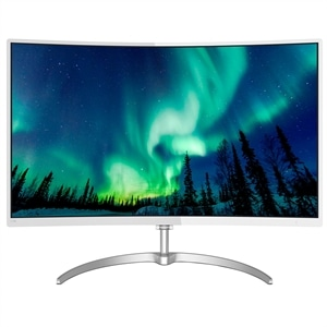 "Monitor 27"" Philips 278E8QJAW/00 Curved  Widescreen  Full HD  HDMI  Vesa  Branco (Emb. contém 1un.)"