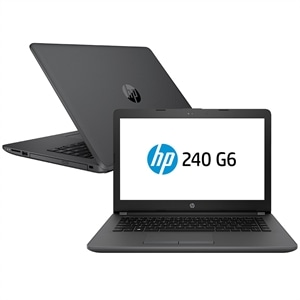 "Notebook HP I5  240  G6  2NE62LA  Tela 14""  8GB RAM  1TB  Windows 10 Pro  Preto (Emb. contém 1un.)"