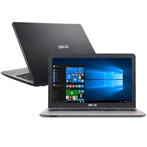 "Notebook Asus X541NA-GO473T  Intel Celeron Quad Core  4GB  500GB  Tela 15.6"" e Windows 10 Home"