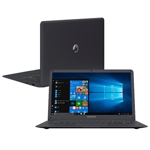 "Notebook Positivo Atom Motion Plus Q432A  Intel Quad-Core  RAM 4GB  32GB  Tela 14""e Windows 10 Home"