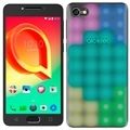"Smartphone Alcatel A5 5085J, Prata, Dual Chip, Tela 5.2"", Android 6.0, Octa Core 1.5Ghz, 16MP e 8MP com Flash, 16GB + Capa LED (Emb. contém 1un.)"